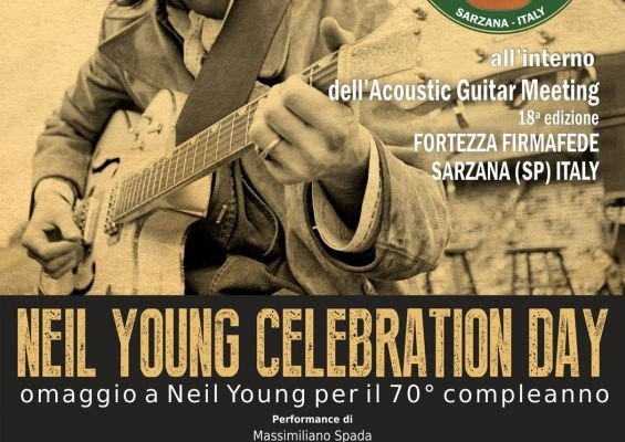 Neil Young Celebration Day at the AGM18 for his 70th birthday!