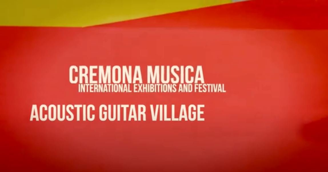 Acoustic Guitar Village 2019 Cremona Musica