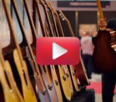 Videoclip of the Acoustic Guitar Village, Cremona Musica 2019, a great success! Visit to NAMM next January